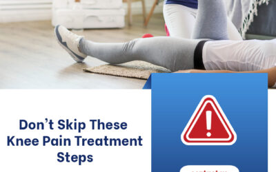Don't Skip These Knee Pain Treatment Steps